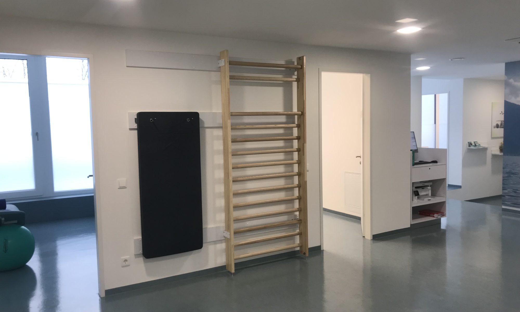 In der Igia Gemeindschaftspraxis in Eugendorf steht uns ein moderner Trainingsraum zur Verfügung